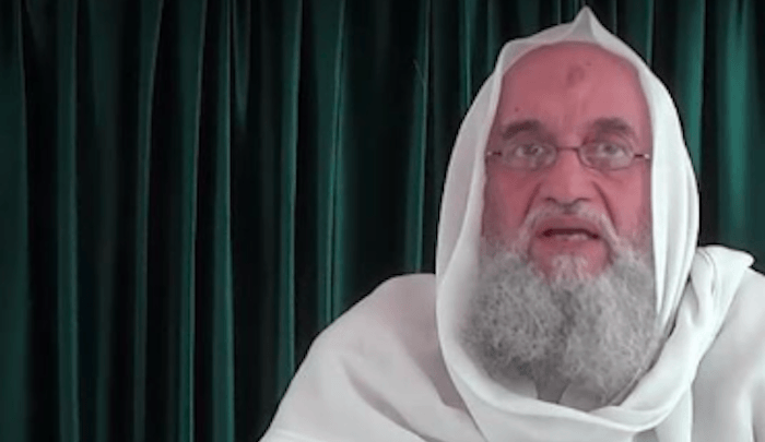 "Al-Qaeda top dog calls for jihad against ""the infidels and the corruption they spread"""