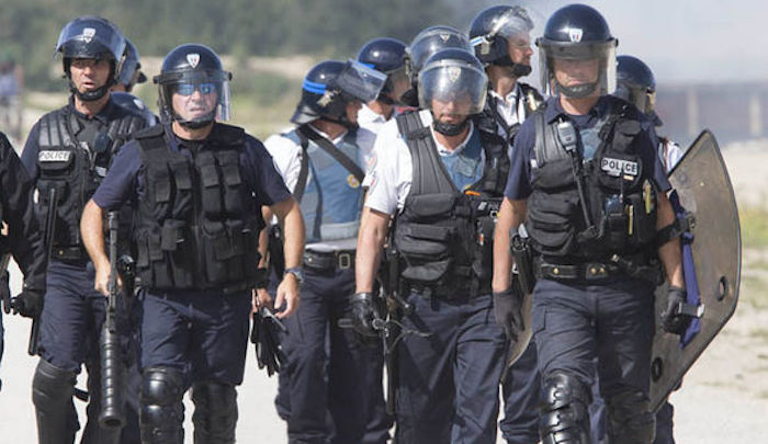 French police find rocket launchers among massive weapons arsenal in drug raid