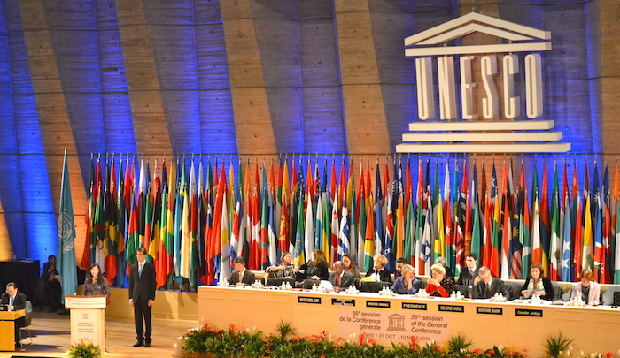Israel sends formal notice that it's withdrawing from UNESCO