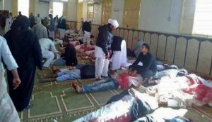 Egypt: Muslims who killed more than 300 people in attack on Sufi mosque carried Islamic State flag