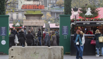 UK's Christmas in the age of jihad: Armed guards, concrete barriers and metal detectors around festive markets