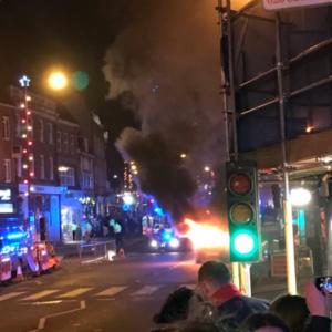 "UK: Car explodes into fireball near London Christmas market, cops say it's ""non-suspicious"""