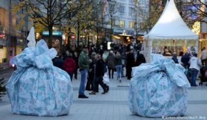 German city protects Christmas markets from vehicular jihad massacres with gift-wrapped car barricades