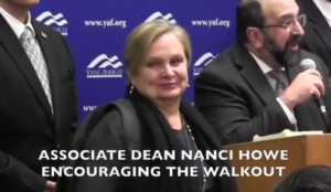 Video: Stanford dean Nanci Howe congratulates student fascists as they disrupt Robert Spencer event