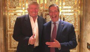 Nigel Farage slams Trump for retweeting videos depicting Muslims being violent