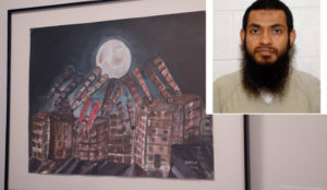 John Jay College in NYC exhibiting and helping to sell artwork by al-Qaeda jihad terrorists at Guantanamo Bay