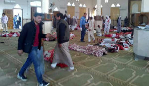 Egypt: Islamic jihadis murder at least 155 in Sufi mosque