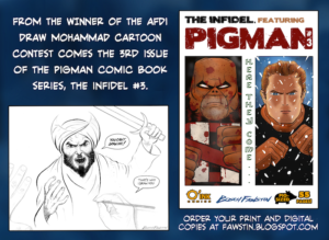 Pigman vs SuperJihad in The Infidel #3, On Sale Now