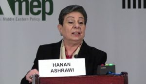 """Palestinian"" spox Hanan Ashrawi: ""No way there can be talks with the Americans. Peace process is finished."""
