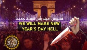 "ISIS vows to ""make New Year's Day hell"" and attack people ""on foot"" at Christmas markets to dodge security barriers"
