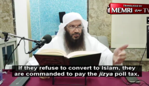 "Muslim cleric: ""Offensive Jihad means attacking infidels to conquer their countries and bring them into fold of Islam"""