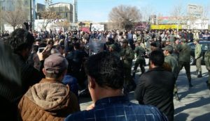 Iranian protest escalates, government cancels schools and trains