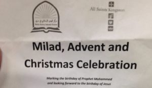 UK church holds joint birthday celebration for Muhammad and Jesus
