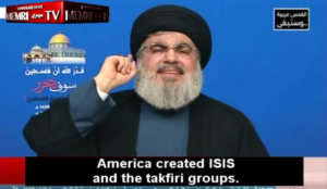 """Hizballah top dog Nasrallah: """"Death to America! Death to Israel!,"""" Trump's move beginning of the end for Israel"""