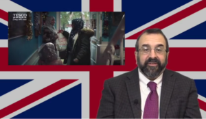 """Robert Spencer video: Is opposition to UK supermarket putting Muslims in Christmas ad """"racism""""?"""