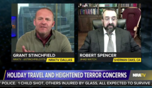 Video: Robert Spencer on NRATV on jihad threats and holiday travel concerns