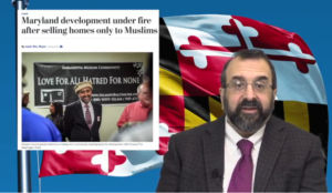 "Robert Spencer video: Is opposition to Muslims-only Maryland housing development just ""Islamophobia""?"