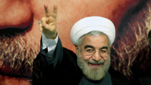 """Iran's Rouhani calls on all Muslims to unite and fight the US and the """"cancerous tumor"""" Israel"""