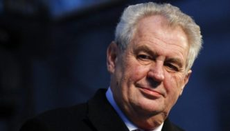 Hugh Fitzgerald: Vote Early and Often For Milos Zeman