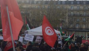 "France: ""Massive"" Palestinian protests ahead of Netanyahu visit"