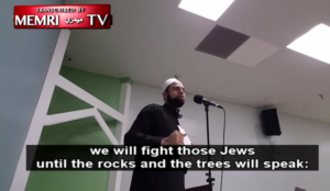 "North Carolina imam: ""Muhammad gave us the glad tidings that at the End of Time, we will fight those Jews"""