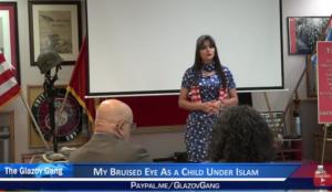 Anni Cyrus: My Bruised Eye As a Child Under Islam