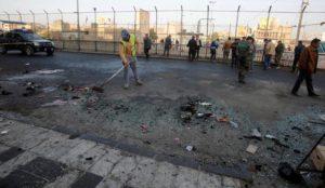 Baghdad: Muslims murder at least 38 people in jihad/martyrdom suicide bombings during rush hour