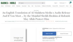 Barnes & Noble offered al-Qaeda bomb instructions as a free download