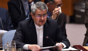 "Iran writes to UN, accusing US of ""grotesque"" interference in its internal affairs via ""numerous absurd tweets"""