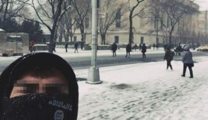 "Islamic State jihadi posts selfie from NYC: ""We are in your own Backyard"""