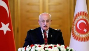 "Turkey Parliament Speaker calls offensive against Syria Kurds ""jihad"""