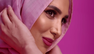 Woman in a hijab stars in hair product advertisement for L'Oreal