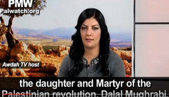 """Palestinian students honor as """"role model"""" the worst jihad mass murderer in Israel's history"""