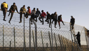 200 Muslim migrants storm Spanish border, attack police to claim EU asylum