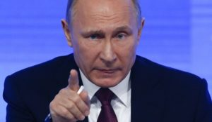 Putin issues veiled threat to the United States