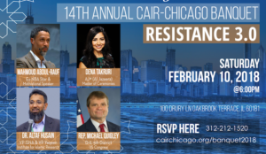 "Illinois Congressman Mike Quigley featured speaker at Hamas-linked CAIR's Chicago ""Resistance"" Banquet"