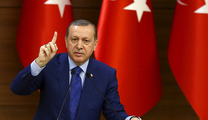 "Turkey: Erdogan accuses West of ""arming terrorists and killers who target Muslims around the world"""
