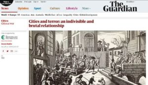 UK's Guardian publishes major article on terrorism, omits Israel