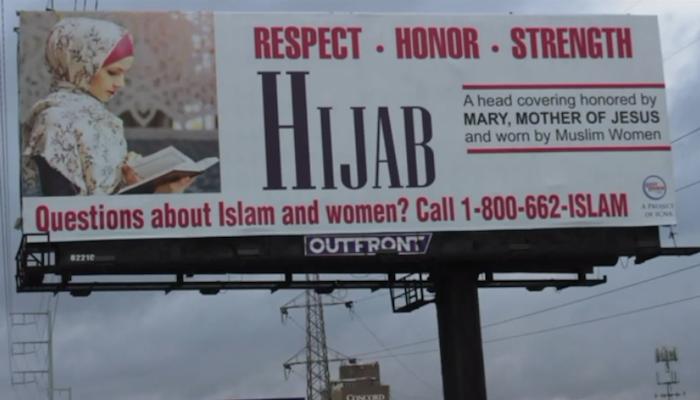 Illinois: Hamas-linked Muslim group launches hijab propaganda billboard campaign