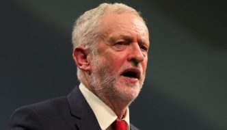 """UK: At mosque, Jeremy Corbyn says """"Islamophobia is a real problem in our society"""""""