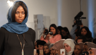 London Modest Fashion Week celebrates Sharia-compliant clothing weeks after women burn hijabs in Iran