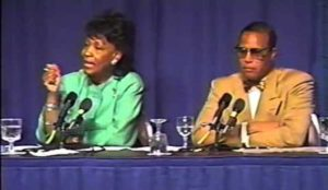 Maxine Waters attended Nation Of Islam convention where Farrakhan defended jihad suicide bombers