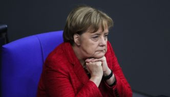 """Germany: Angela Merkel admits anti-Semitism is coming to the country from """"refugees or people of Arab origin"""""""