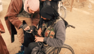 'Inclusive' Islamic State finds job for handicapped man — as a jihad suicide bomber