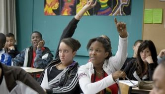 """French children being taught migration is a """"human right"""" and """"we are all Africans"""""""