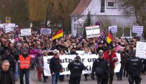 Germany: Mass protests spreading against Merkel and Muslim migration