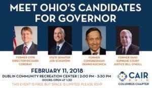 Ohio: Hamas-linked CAIR hosts forum for Democrat gubernatorial candidates