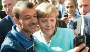 Germany: Muslim migrant thanks Mama Merkel for being able to practice polygamy on benefits