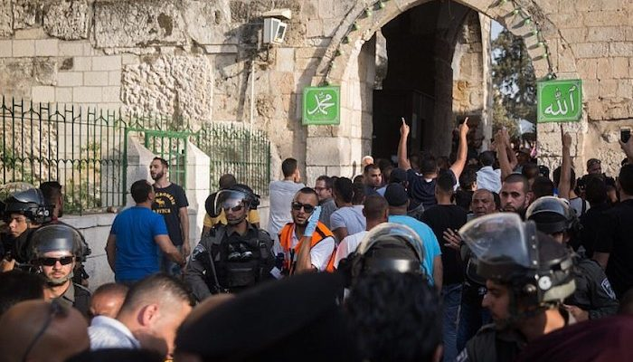 Muslim tourist from Turkey stabs Israeli security guard at Lion's Gate in Jerusalem