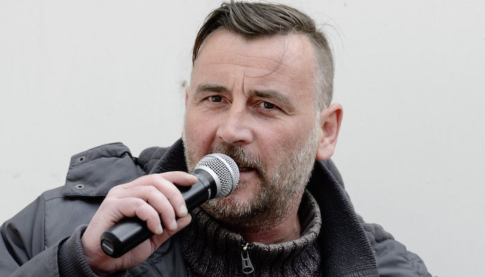 UK bans German Pegida founder after finding speech by other banned person in his luggage